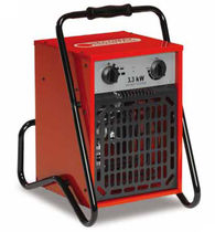 Mobile hot air generator / wall-mounted / electric