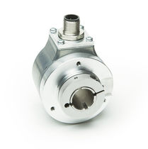 Incremental rotary encoder / optical / voltage output / hollow-shaft