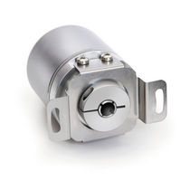 Absolute rotary encoder / magnetic / with analog interface / hollow-shaft