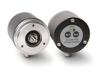 Absolute rotary encoder / magnetic / solid-shaft