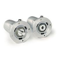 Absolute rotary encoder / gear / potentiometer / blind-shaft