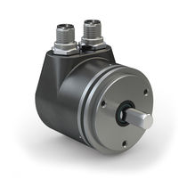 Absolute rotary encoder / magnetic / CANopen / solid-shaft