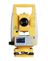 Reflectorless total station / automatic / waterproof
