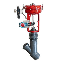 Plug valve / electrically-actuated / pneumatically-operated / purge