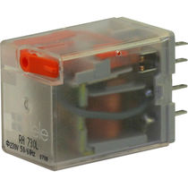 DC electromechanical relay / AC / 2 NO/NC / monostable