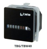 Hour counter / analog / electromechanical / panel-mount