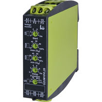 Voltage monitoring relay / 2 NO/NC / multifunction / DIN rail