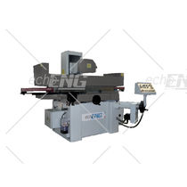 Flat grinding machine / for metal sheets / PLC-controlled / horizontal