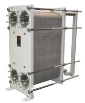 Plate heat exchanger / liquid/liquid / for viscous products