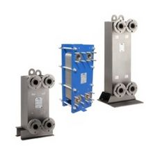 Welded plate heat exchanger / liquid/liquid