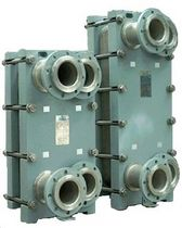 Welded plate heat exchanger / gas/liquid