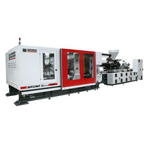 Horizontal injection molding machine / electric / servo-electric / toggle