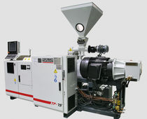 PVC extruder / for WPC / parallel twin-screw