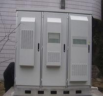 Free-standing cabinet / metal / outdoor / IP55