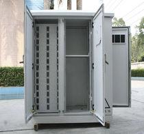 Workshop cabinet / free-standing / double-door / metal