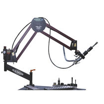 Swing-arm tapping machine / vertical / horizontal / pneumatic