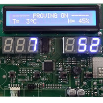 Digital temperature controller / programmable / cooling / industrial