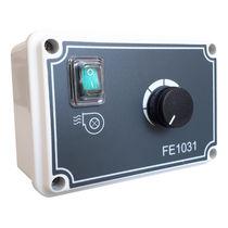 Induction motor speed controller / single-phase / analog / fan