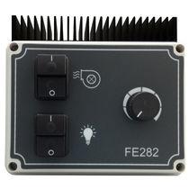 Induction motor speed regulator / analog / single-phase