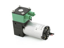 Chemical pump / with DC motor / diaphragm / self-priming