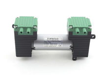 Air pump / with DC motor / self-priming / diaphragm