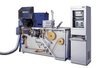 Laser perforating machine
