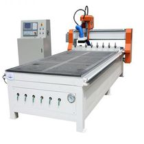 CNC router / 3-axis / wood / with automatic tool changer