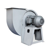 Centrifugal fan / ventilation / high-pressure / high-volume