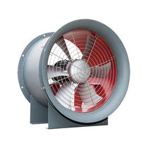 Axial fan / floor-standing / ventilation / anti-corrosion