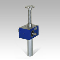 Trapezoidal screw jack / translating screw / stainless steel