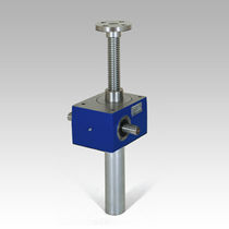 Worm gear screw jack / stainless steel / translating screw / trapezoidal screw