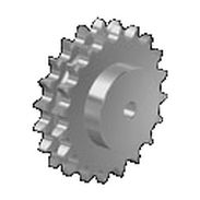 Spur sprocket wheel / double