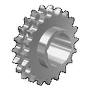 Spur sprocket wheel / straight-toothed / roller chain idler / hub