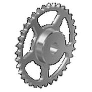 Spur sprocket wheel / straight-toothed / roller chain idler / idler