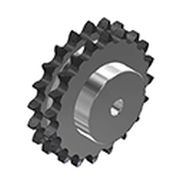Straight-toothed sprocket wheel / roller chain idler / tempered / hub