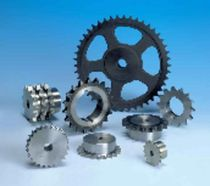 Straight-toothed sprocket wheel / hub / for chain
