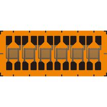 Rosette type strain gauge / for stress analysis / force measurement / high-accuracy