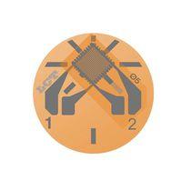Rectangular strain gauge / for stress analysis / force measurement / high-accuracy