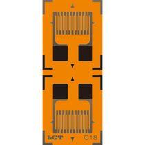 Resistive strain gauge / dual-grid biaxial / linear / high-accuracy