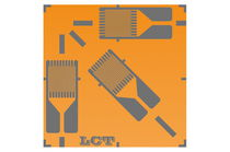 Resistive strain gauge / rectangular / rosette type / for stress analysis