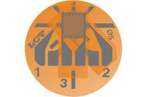 Resistive strain gauge / rectangular / stacked / rosette type