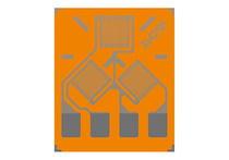 Resistive strain gauge / delta / rosette type / force measurement