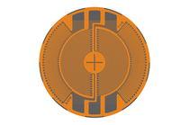 Resistive strain gauge / circular