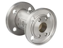 Pinch valve / pneumatic-operated / flange
