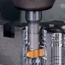 End mill milling cutter / indexable insert / slot / T-slot