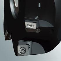 Shell-end milling cutter / insert / face / CVD