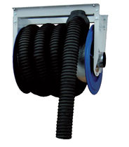 Hose reel / spring / wall-mounted / exhaust extraction hose