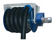 Hose reel / spring / wall-mounted / truck-mounted