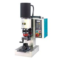 Semi-automatic riveting machine / radial / double-roller head