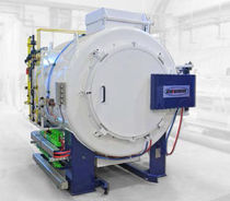 Nitriding furnace / rotary retort / gas-fired / convection